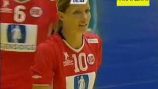 Final del Europeo Femenino Suecia 2006. Rusia vs. Noruega